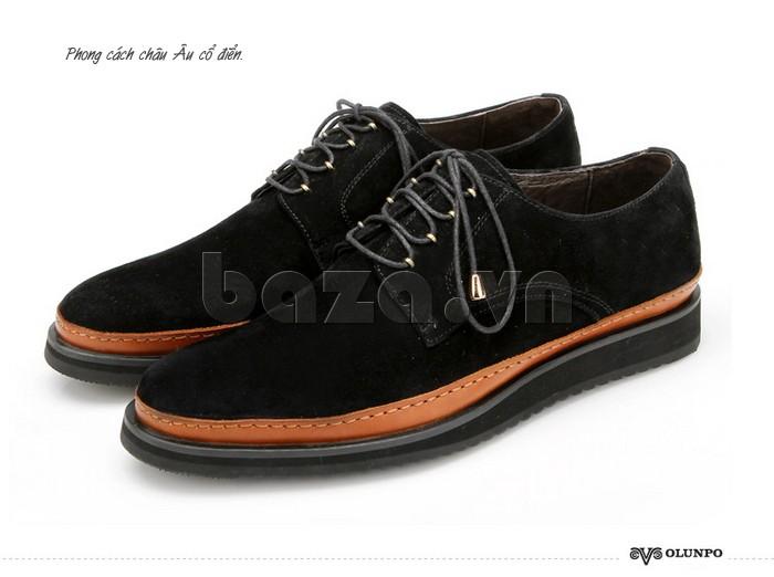 Thương hiệu giày Olunpo nổi tiếng lâu đời mang phong cách châu Âu