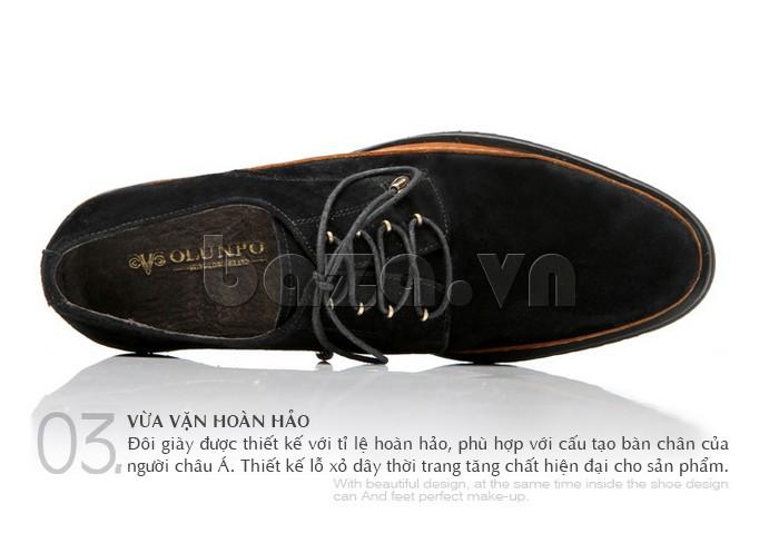 Đôi giày được thiết kế với tỉ lệ hoàn hảo phù hợp với cấu tạo chân của người châu Á