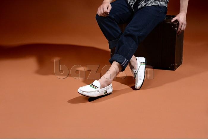 Giày nam Olunpo nhẹ nhàng và duyên dáng