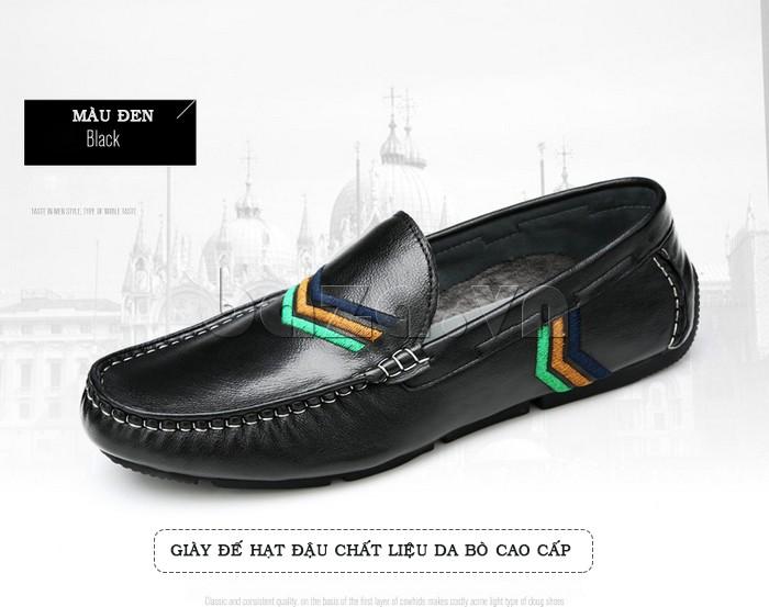Giày nam Olunpo giúp các chàng mặc quần bò, quần kaki năng động hơn
