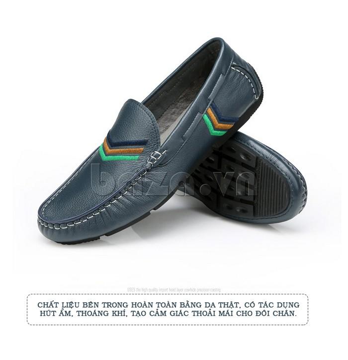 Giày nam Olunpo kiểu dáng thanh nhã cho mùa hè