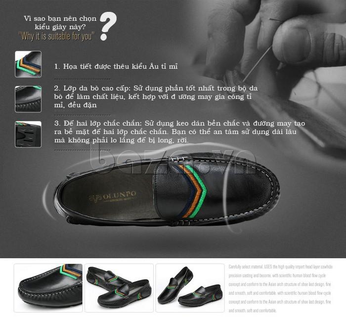 Lý do bạn nên chọn Giày nam Olunpo