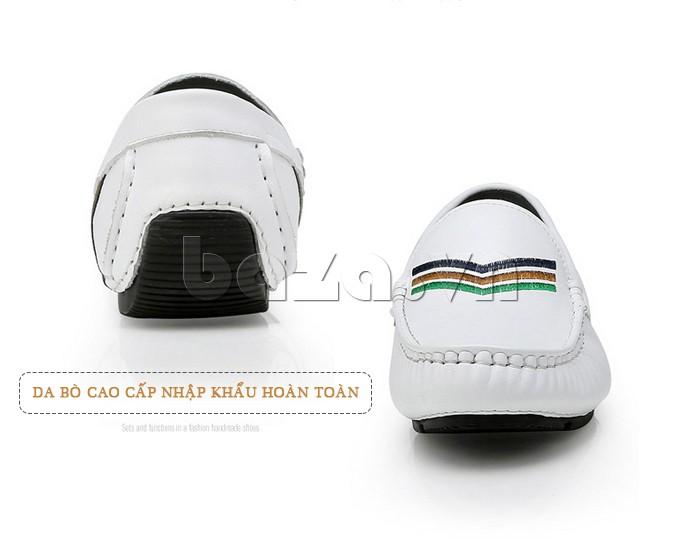 giày nam Olunpo CJY1402 được làm từ toàn bộ da bò nhập khẩu cao cấp