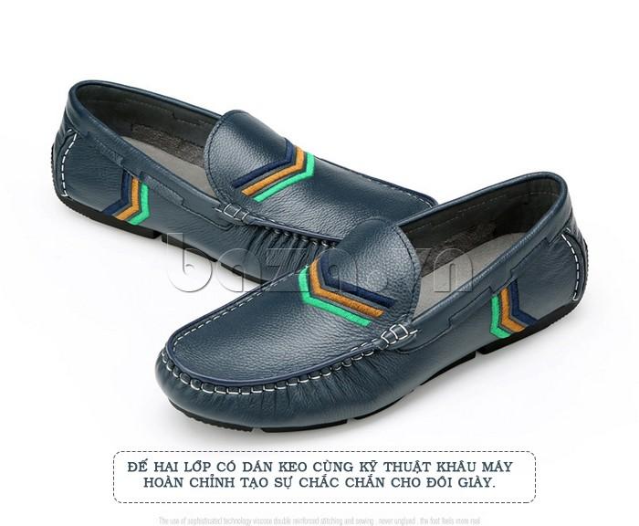 Giày nam Olunpo giúp nam giới thoải mái và tự tin hơn trong những ngày hè nắng nóng