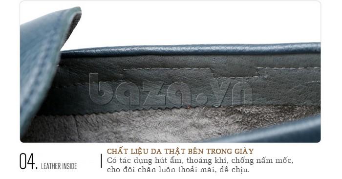 giày nam Olunpo CJY1402 làm từ da cao cấp