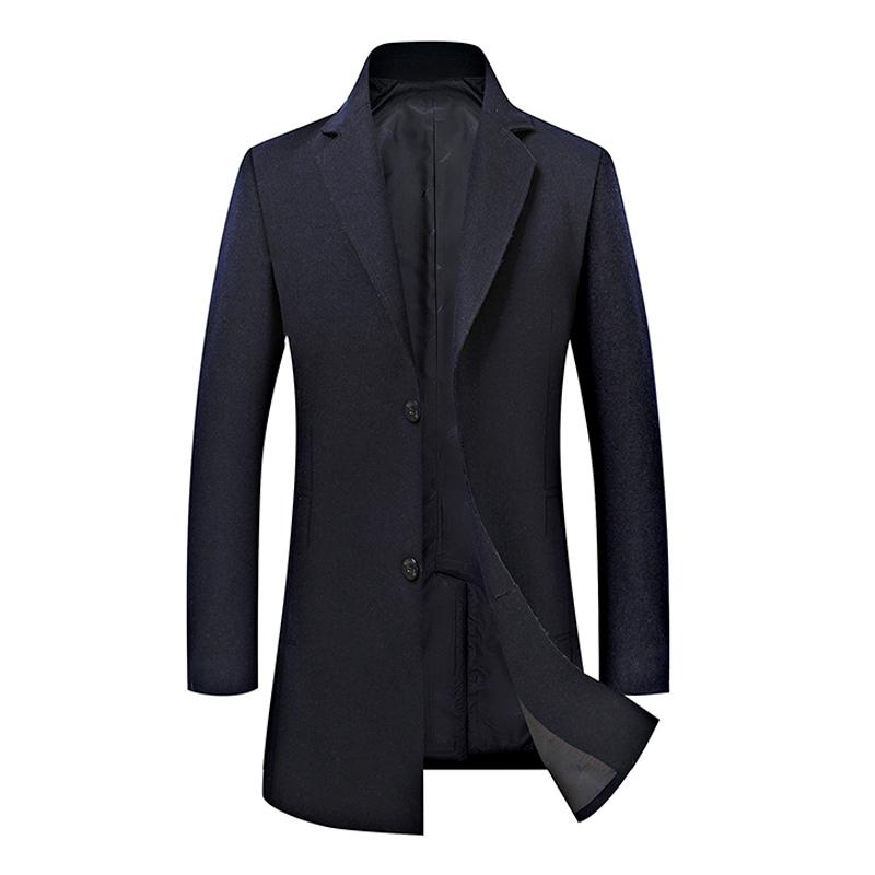 Áo khoác dạ lông cừu kiểu dáng Anh quốc