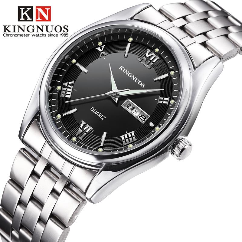 Đồng hồ thời trang nam hiển thị dạ quang Kingnuos