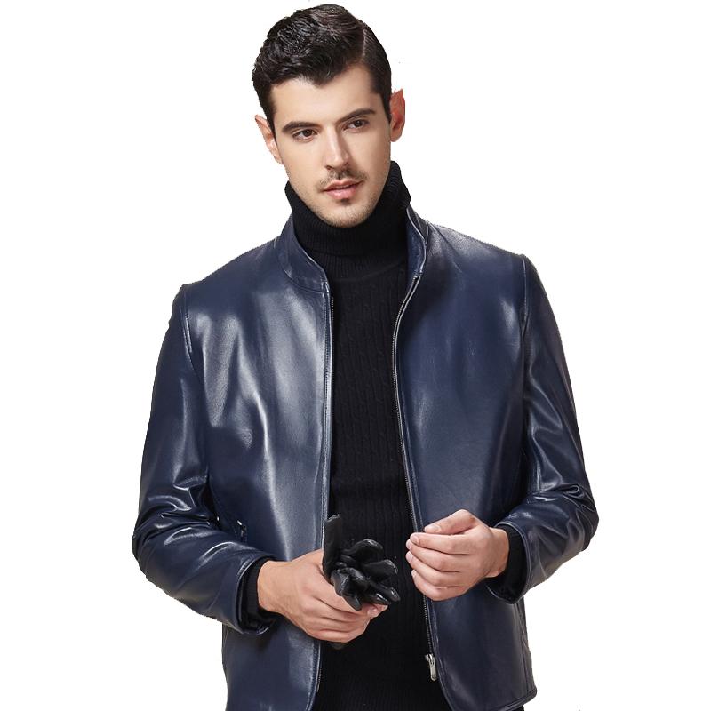 Áo Jacket da cừu trơn vạt bo tròn
