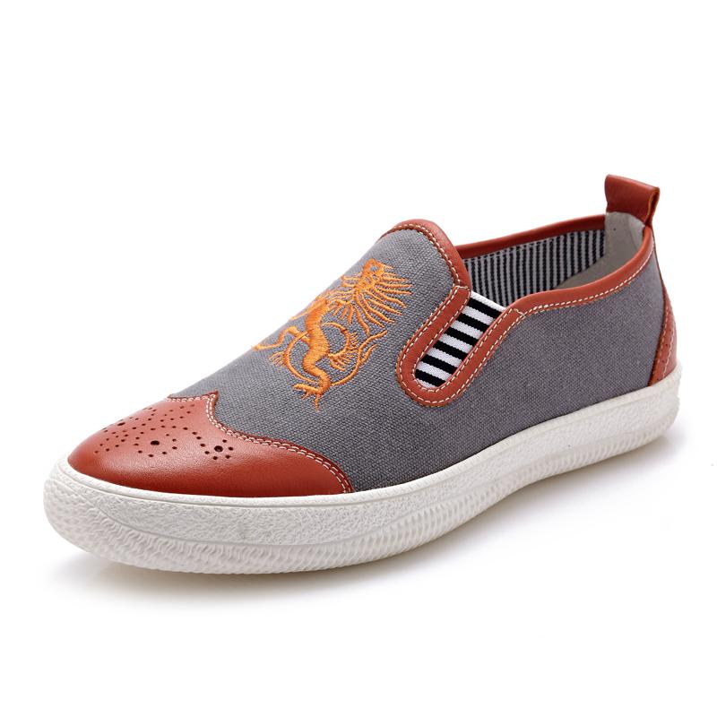 Giày da nam CDD 1259 giày lười năng động