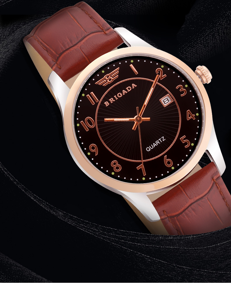 Đồng hồ phản quang nữ Brigada 3011