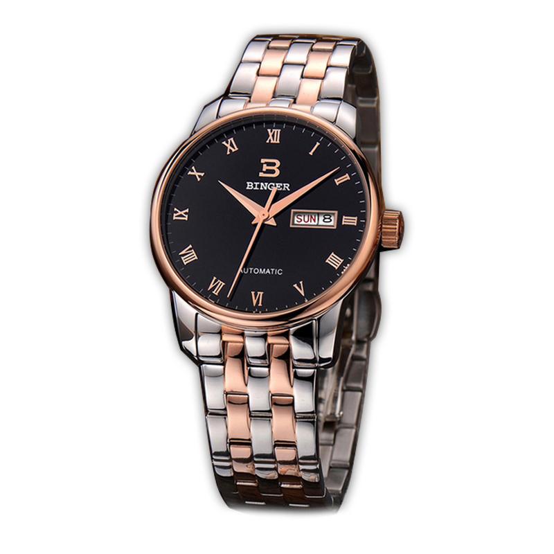 Đồng hồ đeo tay nam Binger 5005