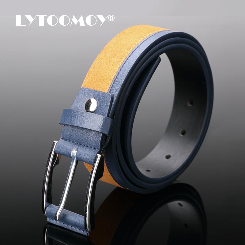 Dây lưng nam Lytoomoy LT101 phối màu thời trang