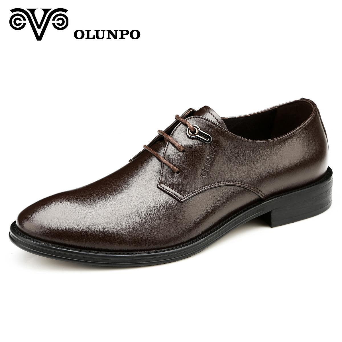 Giầy da nam cao cấp Olunpo QYS1301 êm dịu trong từng bước đi
