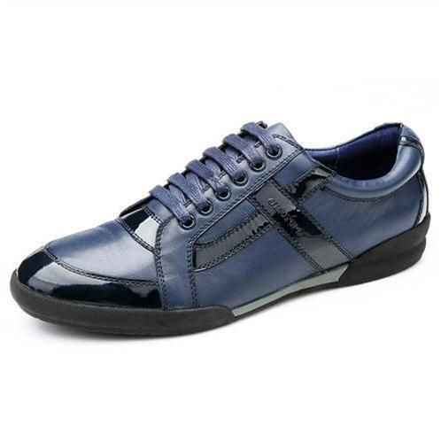 Giày da nam Olunpo QHT1426 dáng năng động