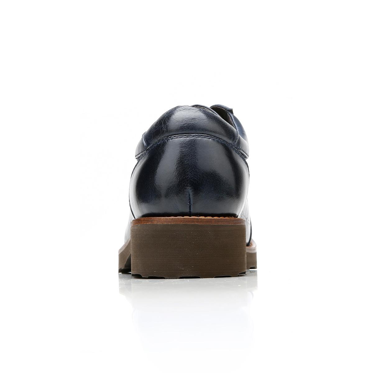 Giày da nam Olunpo QZK1405 vân cá sấu