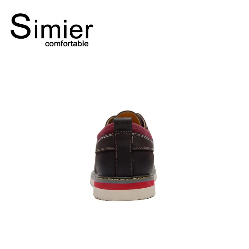 Giày da nam đế răng cưa Simier 8125 độc đáo