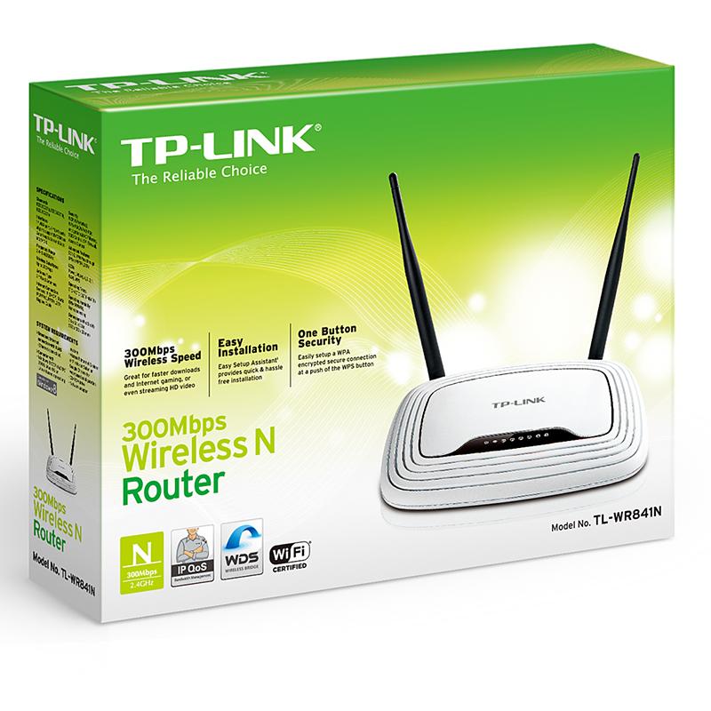 Bộ phát wifi không dây TP-LINK TL-WR841N