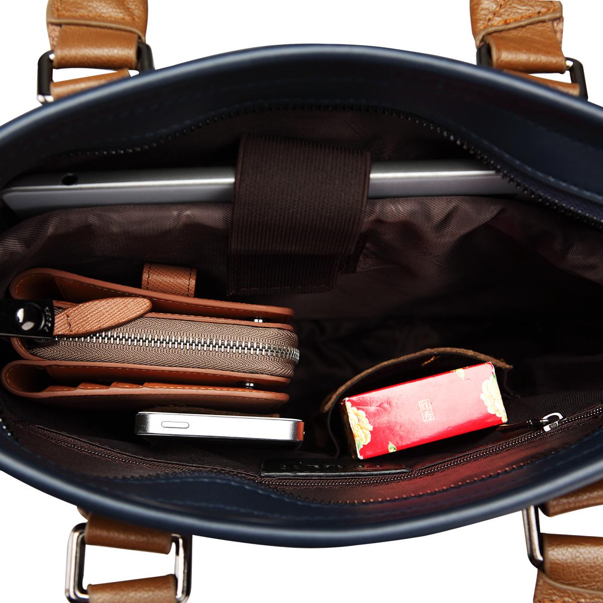 Túi xách nam thương gia dây đeo chéo Feger 951-2