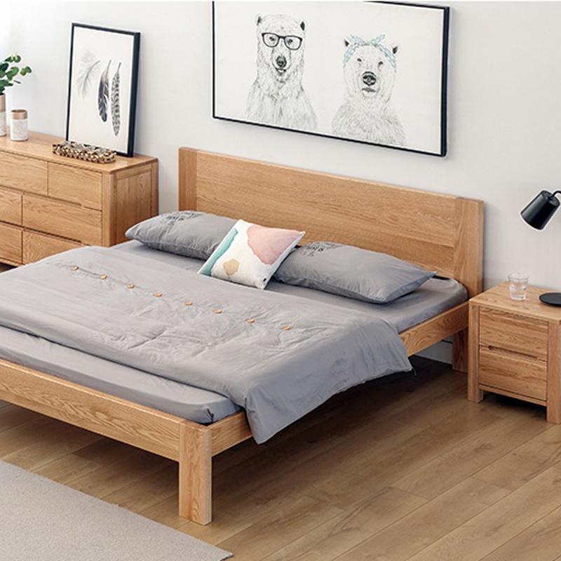 Giường đôi Gothenburg phong cách Bắc Âu