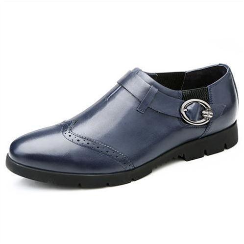 Giày da nam Olunpo QXD1403 công sở ấn tượng