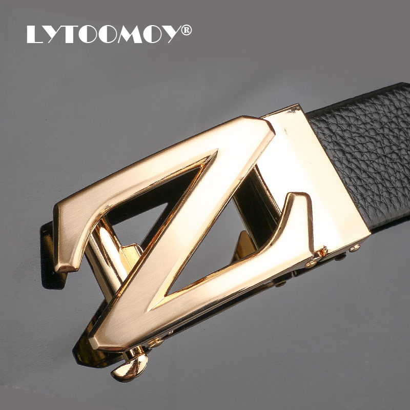 Thắt lưng nam Lytoomoy LT103 Mặt khóa chữ Z nổi