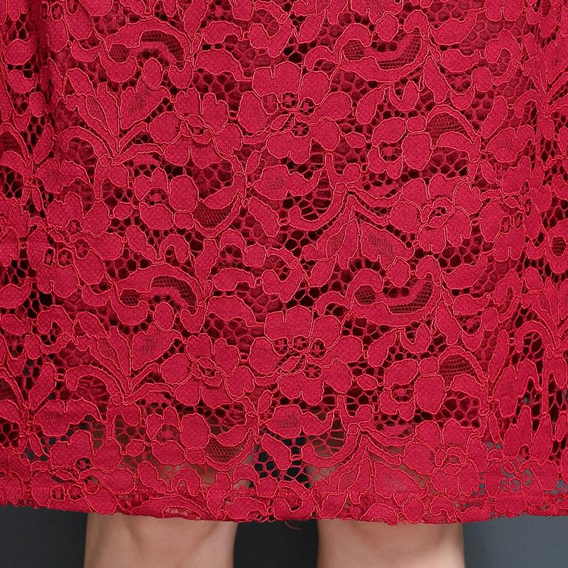 Đầm ôm ren hoa 2 lớp Ayersrock