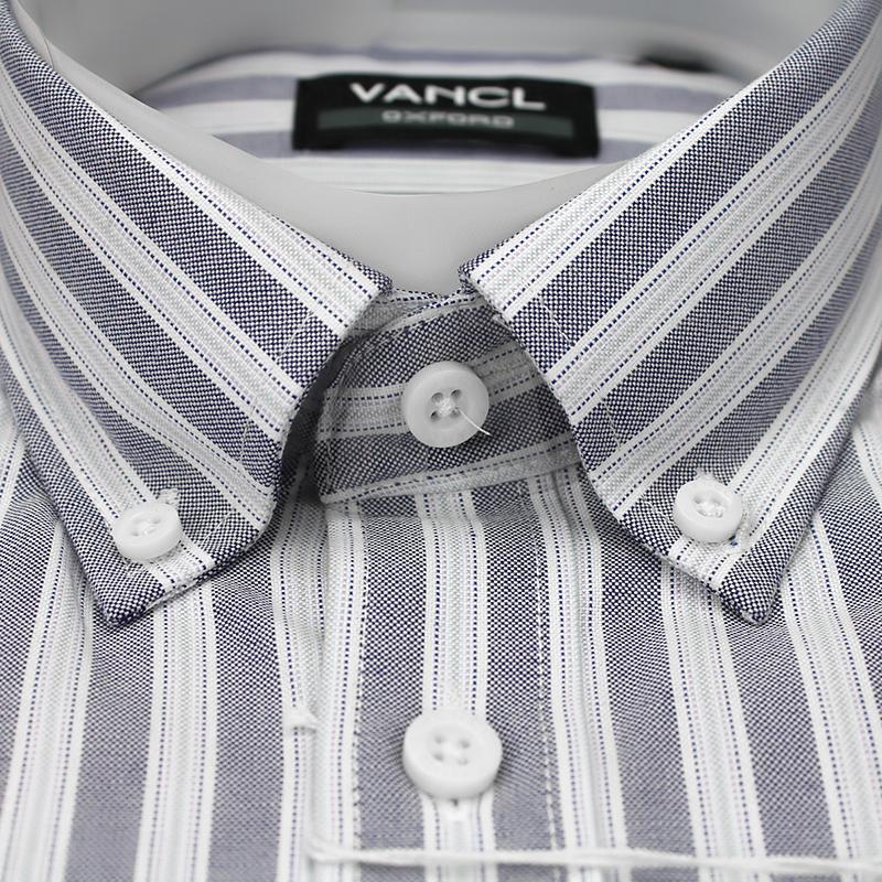Sơ mi nam Oxford cổ button down VanCL