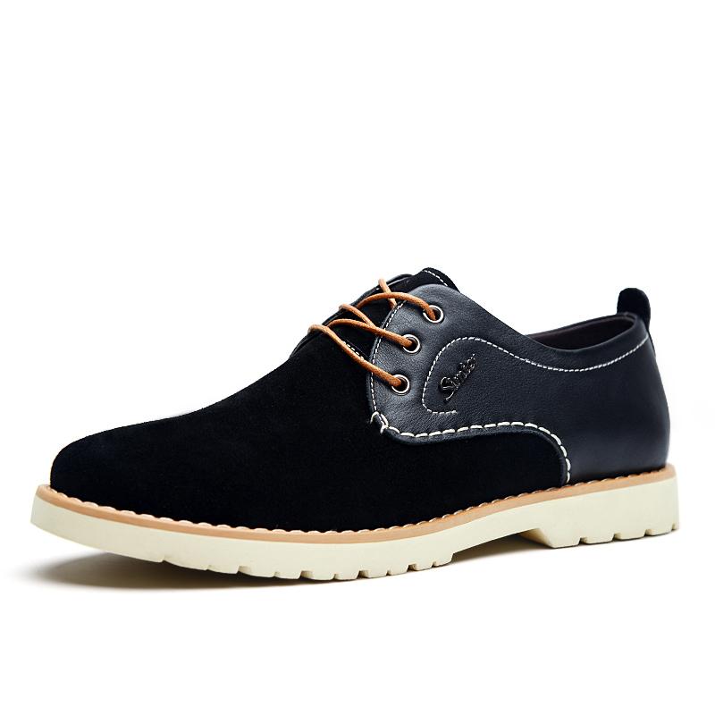 Giày nam mặt da lộn Simier 8118