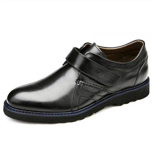Giày da nam Olunpo khóa dán QLXS1406