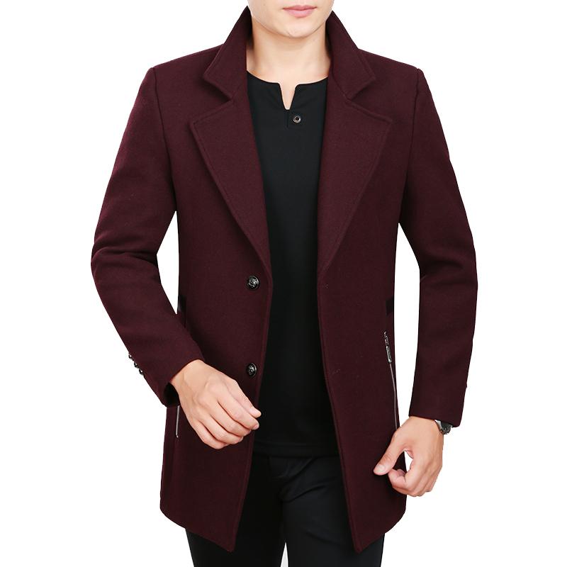 Áo khoác dạ cổ vest hai khuy