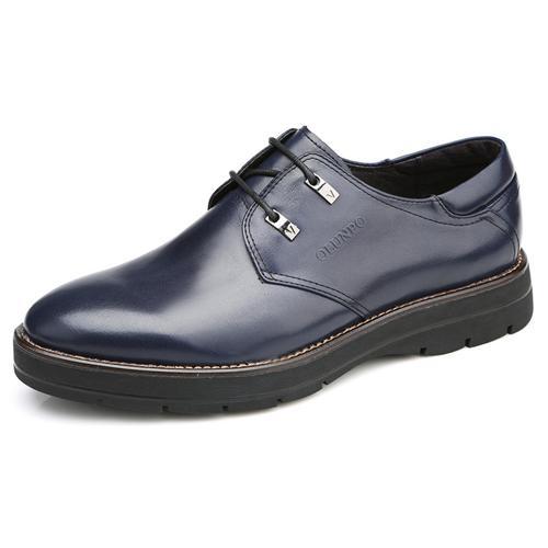 Giày da nam Olunpo QHL1403 Bề mặt trơn bóng