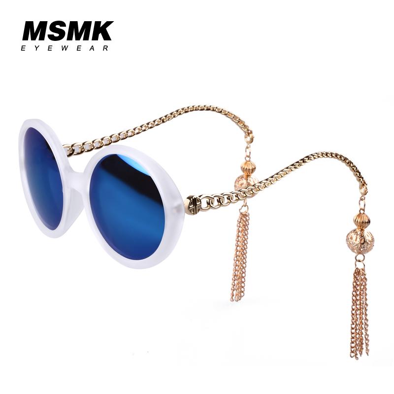 Kính râm nữ gọng hoa tai cá tính MSMK 1346