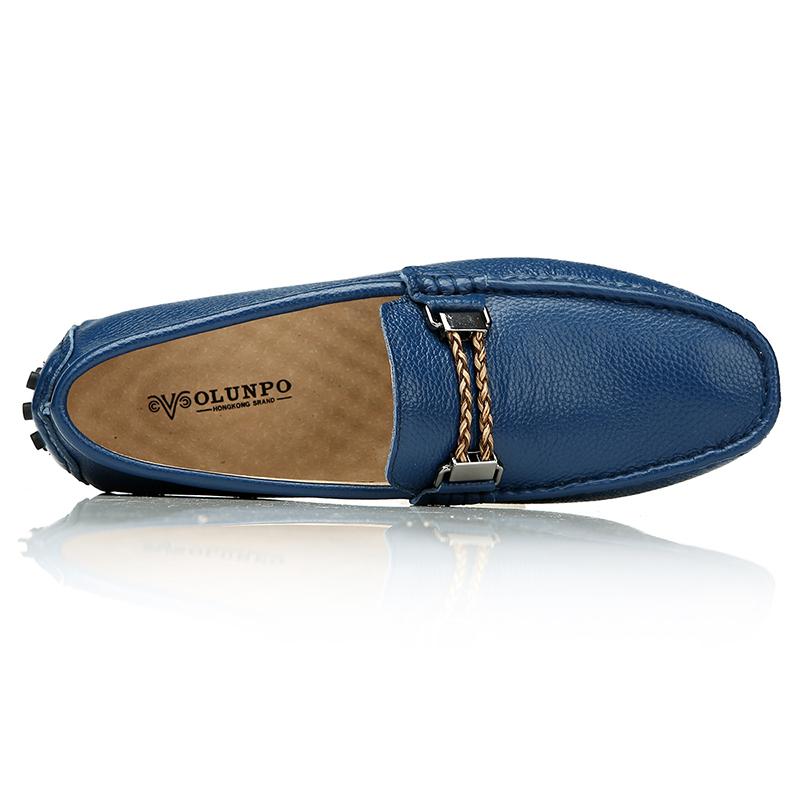 Giày lười nam đế hạt đậu Olunpo CZYA1501
