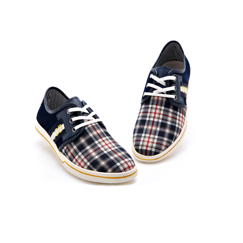 Giày vải nam kẻ caro CDD 1668