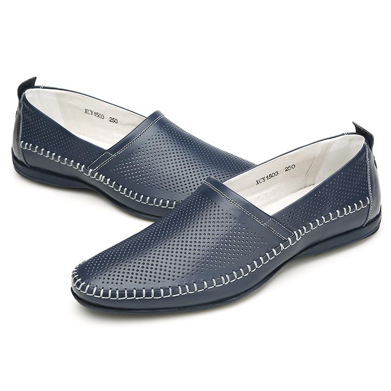Giày lười nam thời trang Olunpo XCY1503
