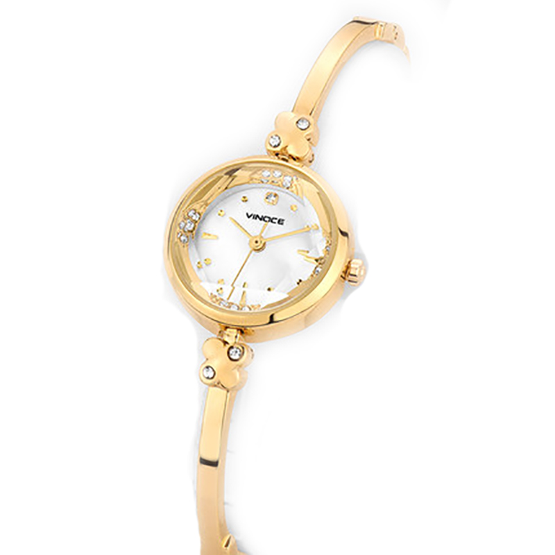 Đồng hồ vòng tay nữ đính đá thạch anh