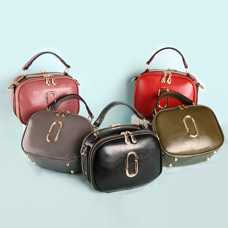 Túi hộp saddle khóa đôi Balana