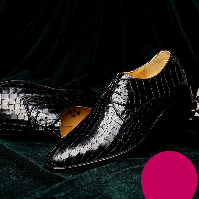 Giày da nam VANGOSEDUN Y10316 sành điệu