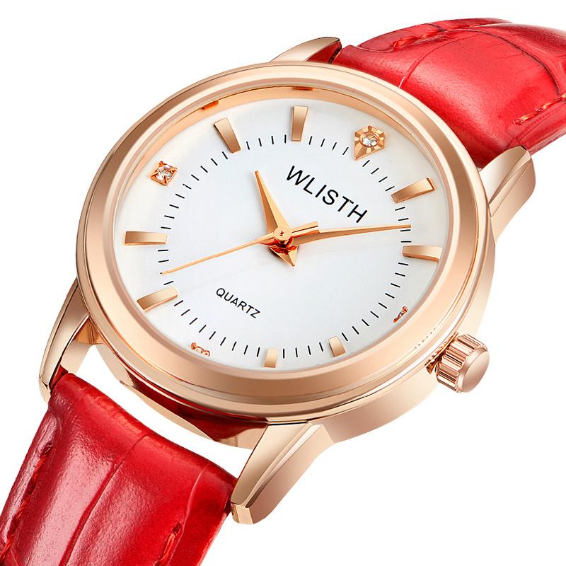Đồng hồ nữ dây da thời trang Volley Wlisth