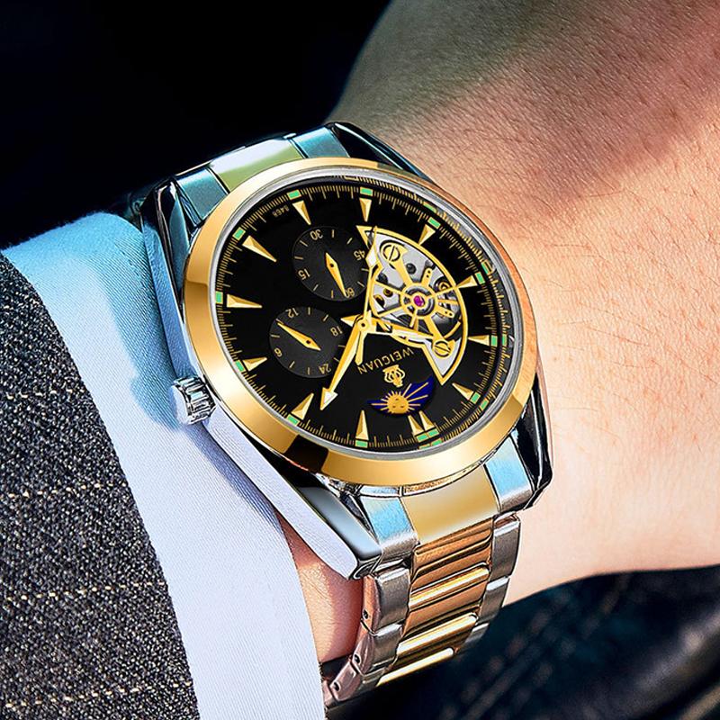 Đồng hồ Tourbillon chạm rỗng Bosck Sun Face