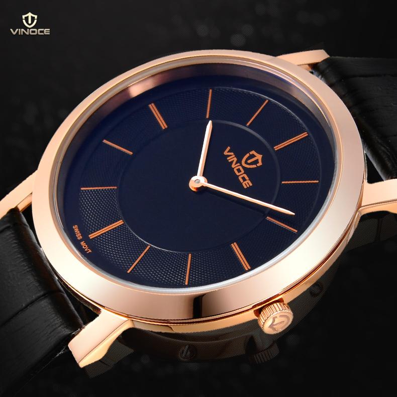 Đồng hồ nam siêu mỏng Vinoce V8350G