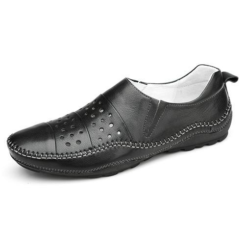 Giày lười nam da thật thời trang Olunpo XHT1502