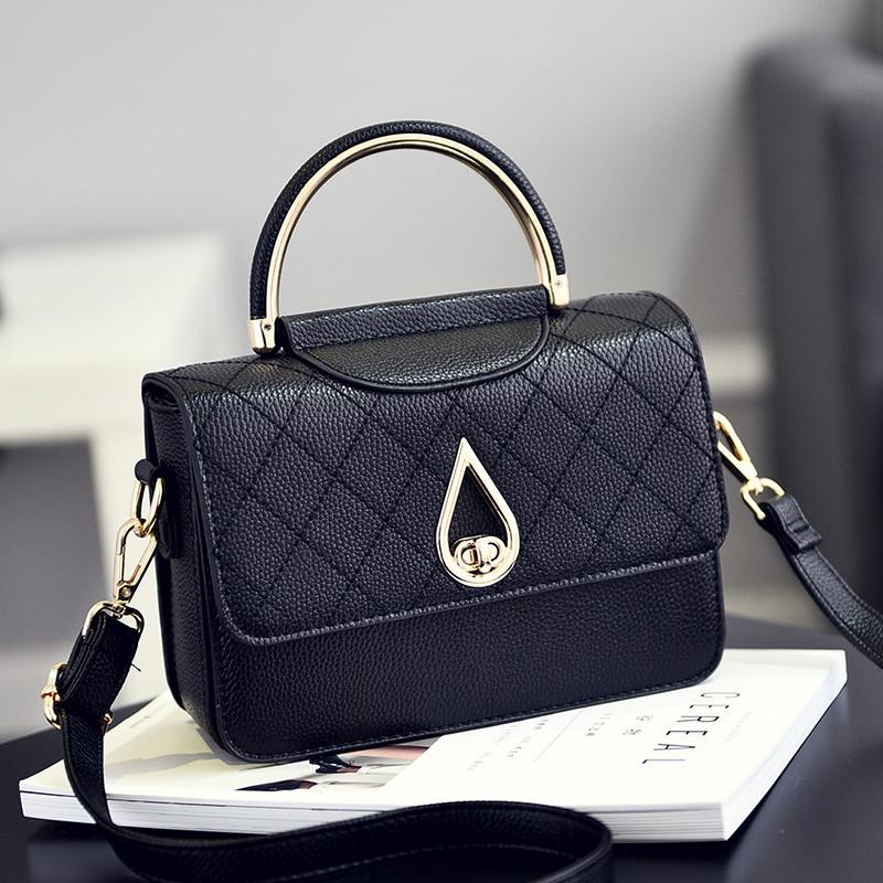 Túi Flap bag dáng hộp khóa xoay giọt lệ Balana