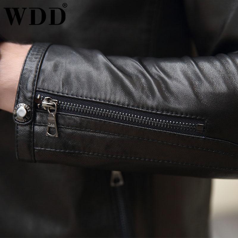 Áo Jacket da dê phối khóa kéo