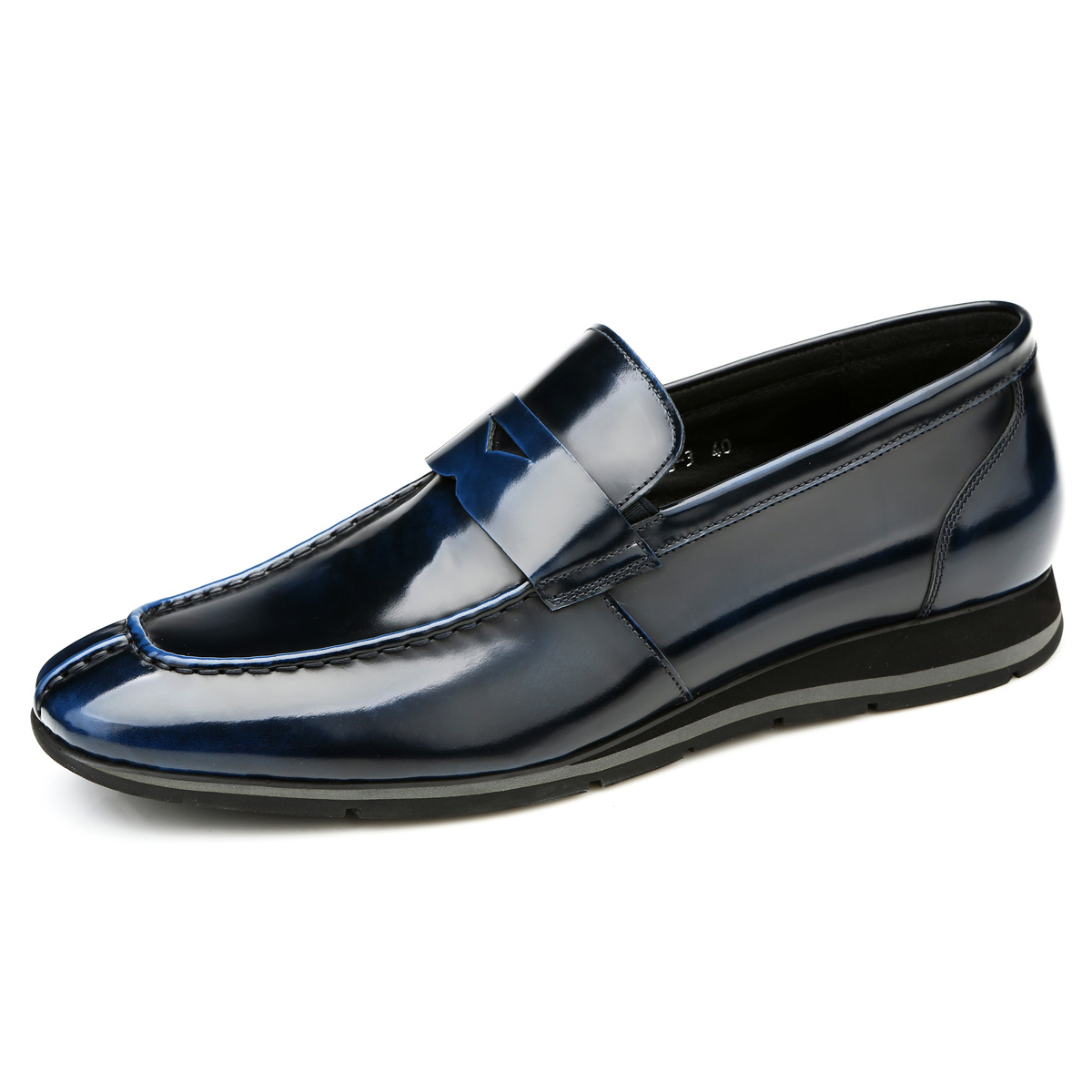 Giày da nam Olunpo QHT1431 ấn tượng