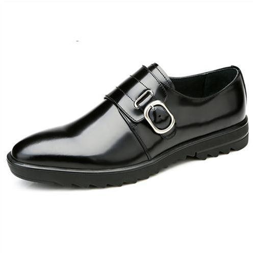 Giày nam da bóng Olunpo QLXS1411