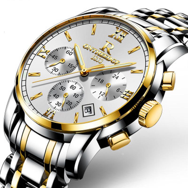 Đồng hồ doanh nhân dây thép tinh luyện Ontheedge