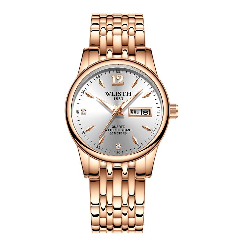 Đồng hồ thời trang Wlisth nữ hiển thị lịch ngày