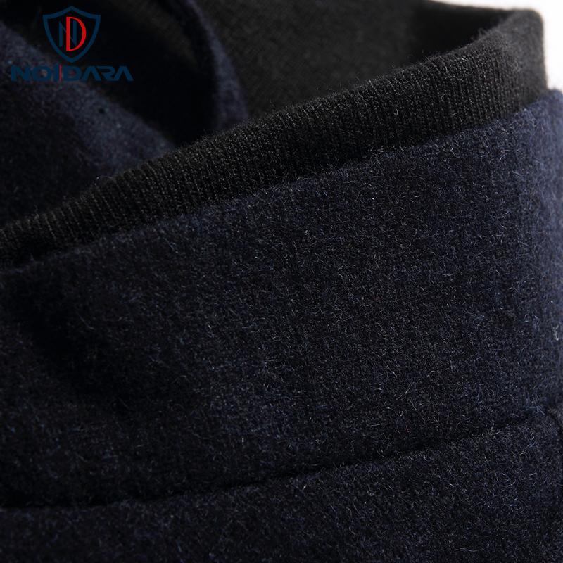 Áo khoác bóng chày nam phối da No1Dara