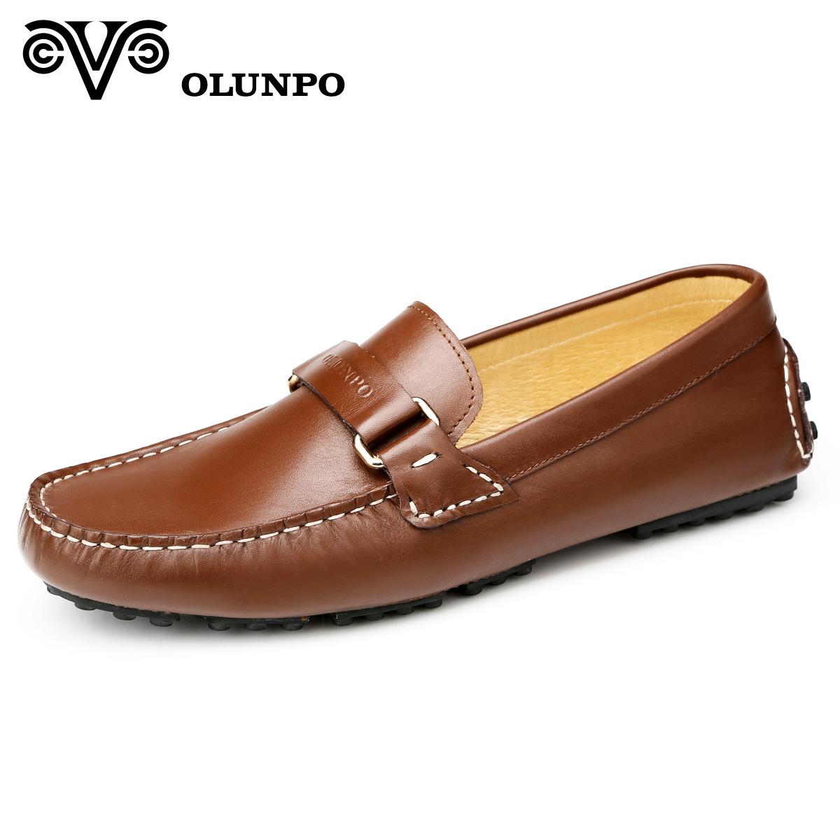 Giầy lười Olunpo CHY1402 cá tính